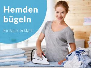 Anleitung wie bügelt man Hemden, Schritt für Schritt zum perfekt gebügelten Hemd, Bügeltipps