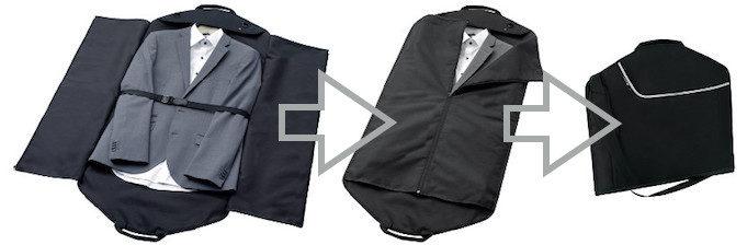 Business Kleiderhülle zum Falten als Handgepäck
