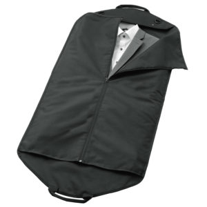 Kleidersack: Anzüge in Kleiderhülle falten und im Schrank oder Koffer aufbewahren