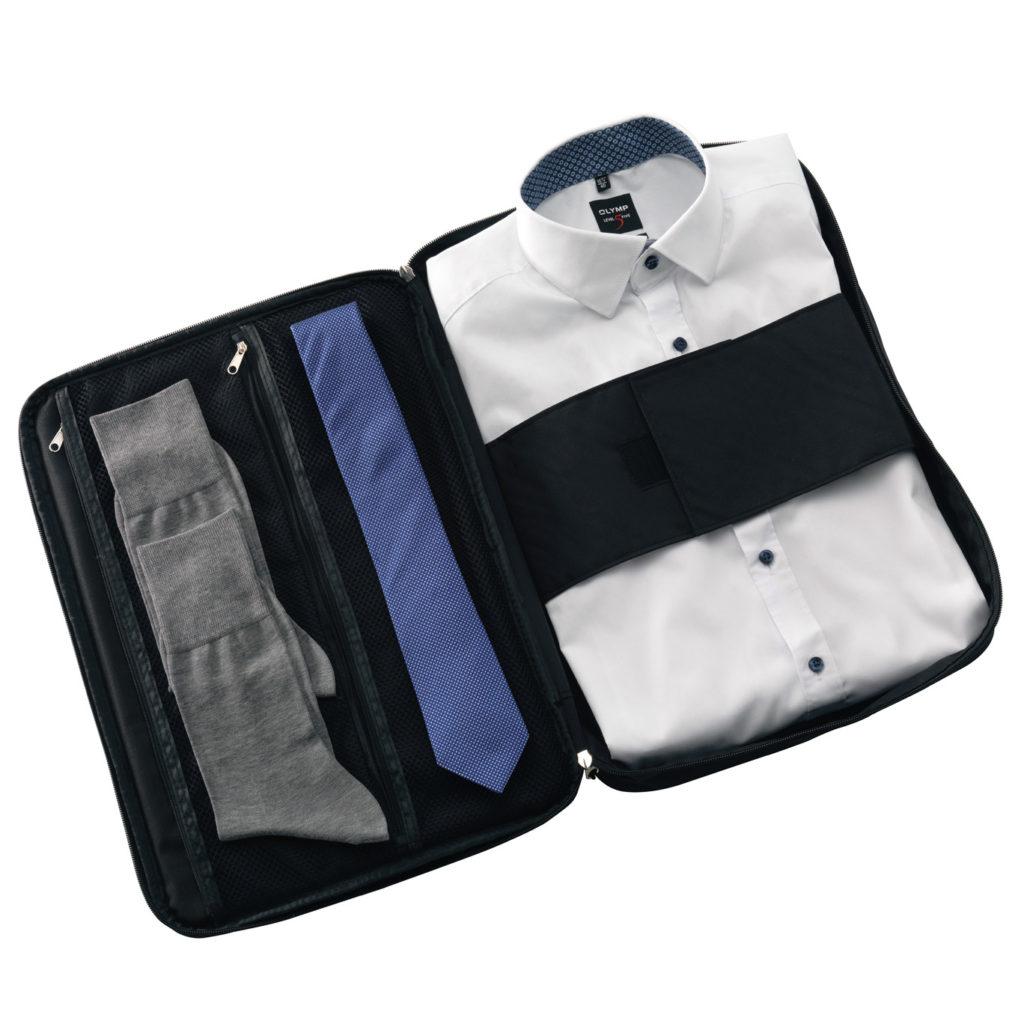Anzugtaschen Set mit Reisetasche für Hemd, Krawatte und Anzug